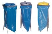 Collecteur déchets en inox - Fabriqué en inox.