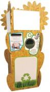 Collecteur en carton pour déchets
