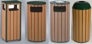 Collecteur en polyéthylène 100% recyclé - Capacité (L) : 45 - 56