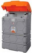 Collecteur huile usagée pour extérieur - Capacité : 1000 L - Cuve double paroi PE