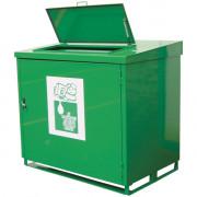 Collecteur huile végétale usagée - Capacité de stockage : 2 fûts de 200 L