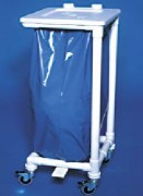 Collecteurs de déchets hygiénique à pédale - Nombre de sacs : 1