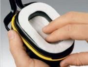 Collerette pour casque antibruit - Fibre cellulosique - boîte de 20 étuis de 5 paires