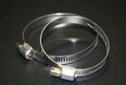 Colliers à vis bande ajourée - Largeurs (mm) : 8 - 14