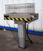 Colonne élévatrice aluminium - Permet de surélever le contenu d'une caisse