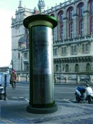 Colonne morris affichage - Dispose de 2 ou 3 surfaces d'affichage selon la version