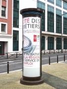 Colonne morris vitrée ou non - Surface d'affichage : 6 m²