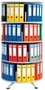 Colonne rotative pour classeur - Facile à assembler - Construction métallique durable
