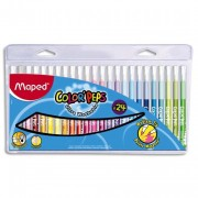 Color PEPS pochette de 24 feutres de coloriage pointe moyenne - Maped