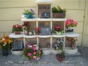 Columbarium avec jardinière - A cases modulables -