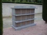 Columbarium chapiteau en granit - Structure en granit massif poli - 3 version disponibles