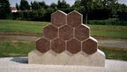 Columbarium nid d'abeille - Modèle évolutif