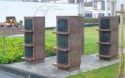 Columbariums pour site cinéraire - Des îlots modulables en nombre de cases