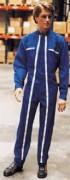 Combinaison de protection bleue - Tailles : 0 à 6 - 2 poches plaquées