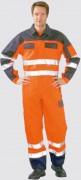 Combinaison haute visibilité bicolore - Tailles disponibles : De 38 à 60