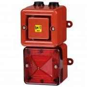Combiné 104dB feu flash    -  Combiné 104dB feu flash 5J IP66 32 sons TL100X