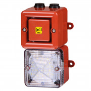 Combiné 104dB feu LED  - Combiné 104dB feu LED IP66 32 sons TL100H