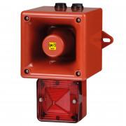 Combiné 112dB feu LED   - Combiné 112dB feu LED IP66 32 sons TL105H