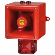 Combiné 119dB feu LED IP66   - Combiné 119dB feu LED IP66 45 sons TL112H