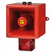 Combiné 126dB feu flash 5J  - Combiné 126dB feu flash 5J IP66 45 sons TL121X