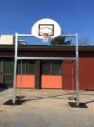 Combiné mini-hand et mini-basket avec cage - Dimension:mini hand  2m40 x 1m70