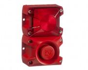 Combiné sirène 105 dB   - Combiné sirène 105 dB feu flash 5 J IP66 PIL100