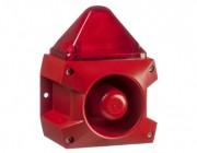 Combiné sirène feu flash 10J   - Combiné sirène 107 dB feu flash 10J IP66 PIL10510J