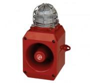 Combiné vocal/sonore en fonte aluminium - Combiné vocal/sonore 110dB feu LED IP66