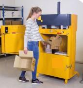 Compacteur à carton - Poids des balles de carton : 30 à 50 kg
