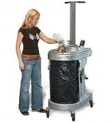 Compacteur à déchets humides - Force de compactage : 1.5 t