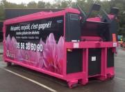 Compacteur à déchets monobloc 24 m3 - Capacité : 24 m³