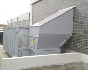 Compacteur à vis pour déchets - Compression optimale pour différents types de déchets.