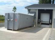 Compacteur à vis pour déchets