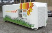 Compacteur automatique solaire - Capacité:14 m³ ou 2 fois 7m³