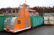 Compacteur déchets à rouleau - Hauteur hors tout : 4010 mm