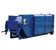 Compacteur monobloc pour déchet - Commande hydraulique simple