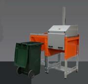 Compacteur pour conteneur - Capacité poubelle 240 L
