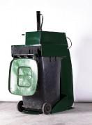 Compacteur tasseur de bacs - Tasseur de bac de  240L ou 360L
