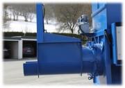 Compacteur vis extracteur liquide - Débit de compactage : 150 m³ / h