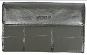 Compagnon grand modèle cuir - Capacité : 19 cartes - Poche à 3 compartiments