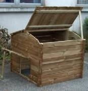 Composteur à trappes basses - Composteur bois 300L-2C007