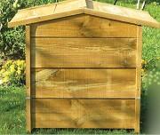 Composteur écologique en bois - Capacité (L) :  350 - 550
