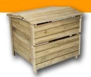 Composteur en bois traité autoclave - Boislis autoclave