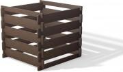 Composteur plastique recyclé - Volume : 650 litres  - Dimensions : L 100 x H 90 x l 100 cm