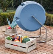Composteur rotatif pour particuliers - Culbuto50 - Composteur rotatif dédié aux déchets alimentaires des particuliers