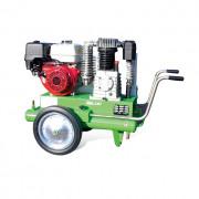 Compresseur avec moteur essence - Démarrage : Lanceur ou électrique