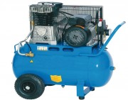 Compresseur d'air à courroie 50 L - 10 Bars - Capacité cuve : 50 L - Pression max : 10 Bars
