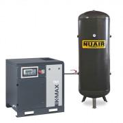 Compresseur d'air à vis silencieux - Capacité de la cuve : 500 litres