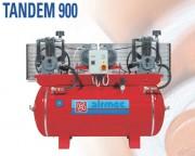 Compresseur d'air aspiré Professionel - TANDEM 900 CF977, 900L - 10 Bar