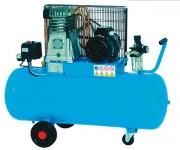 Compresseur d'air mobile 100 L - 11 bars - Capacité cuve : 100 L - Puissance max : 11 bars